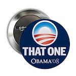 Obama THAT ONE 08 Sig Blue 2.25