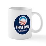 Obama THAT ONE 08 Sig Blue Mug