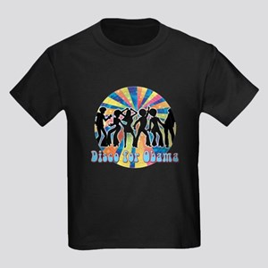 Disco for Obama Kids Dark T-Shirt