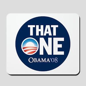 Obama THAT ONE Nashville 2008 Mousepad