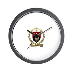DAUPHIN Family Crest Wall Clock