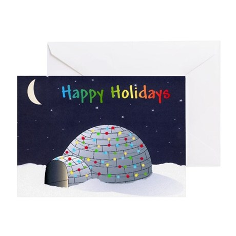 Happy Holiday Igloo