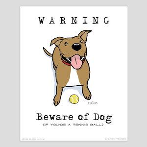 "Beware of Dog 16""X20"" Poster"