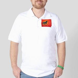Akhal-Teke Absent Golf Shirt