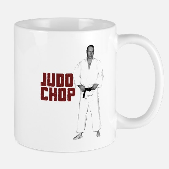 Vladimir Putin Judo Chop Mug