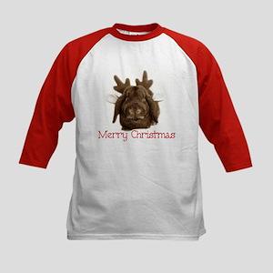 Christmas little reindeer Kids Baseball Jersey
