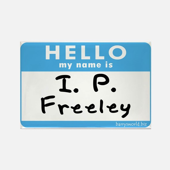 I. P. Freeley Rectangle Magnet (10 pack)