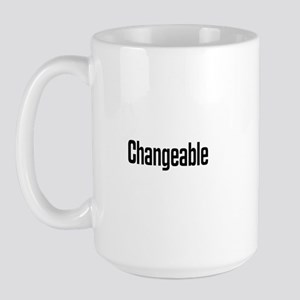 Changeable Large Mug