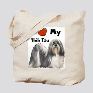 I Love My Shih Tzu Tote Bag