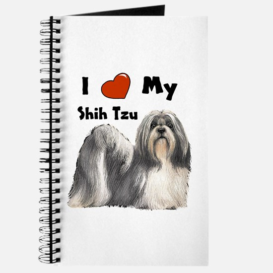 I Love My Shih Tzu Journal