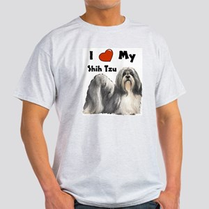 I Love My Shih Tzu Light T-Shirt
