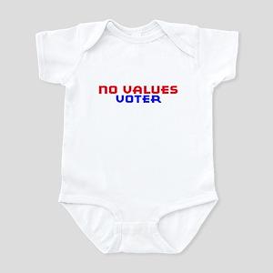 No Values Voter Infant Bodysuit