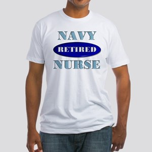 Retired Navy Fitted T-Shirt