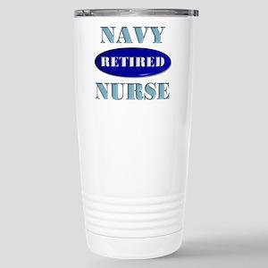 Retired Navy Stainless Steel Travel Mug