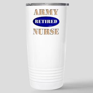Retired ARMY Stainless Steel Travel Mug