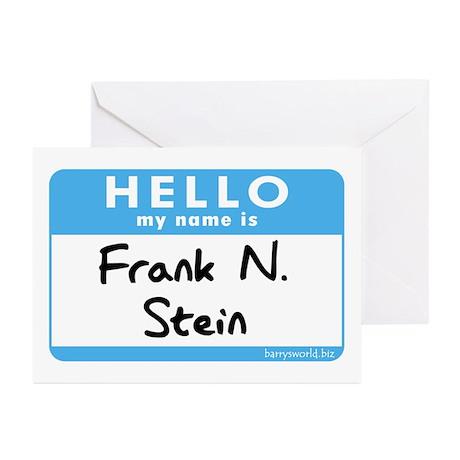 Frank N. Stein Greeting Cards (Pk of 20)