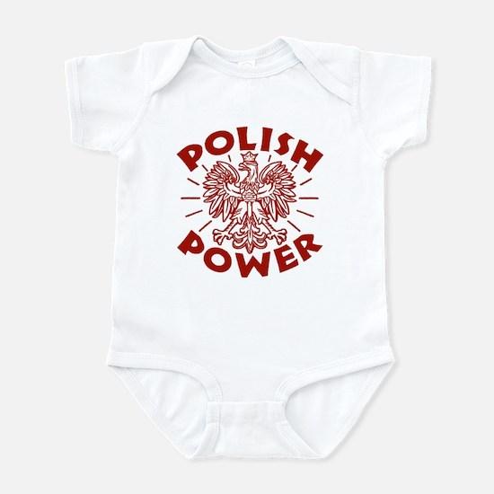 Polish Power Infant Bodysuit