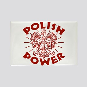 Polish Power Rectangle Magnet