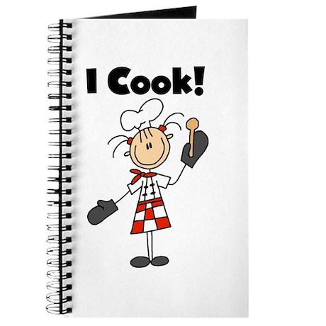 Female Chef I Cook Journal