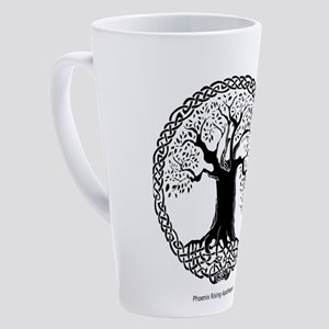 Tree Of Life Celtic 17 Oz Latte Mug