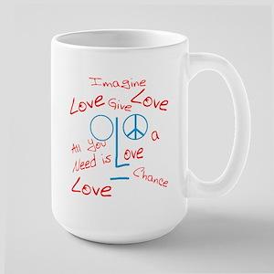 Imagine Large Mug