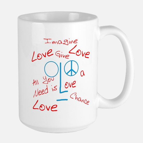 Imagine Large Mug