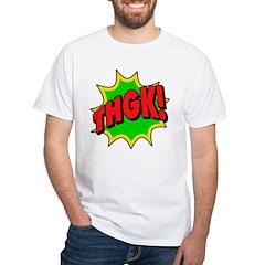 Exclaim Wear! White T-Shirt - THGK!