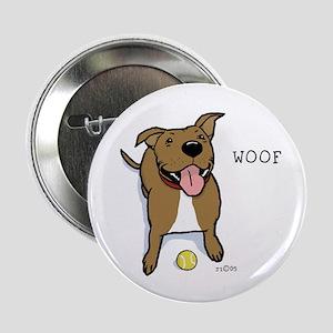 "Woof Dog 2.25"" Button"