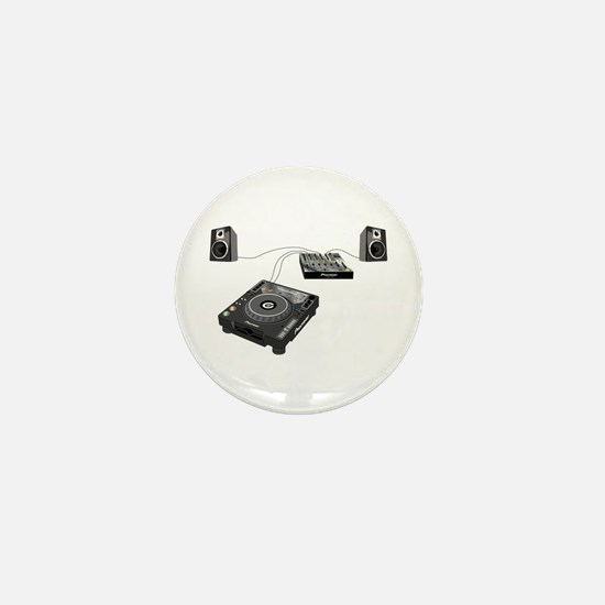 My CDJ Setup Mini Button