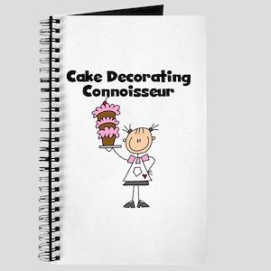 Female Cake Decorator Journal