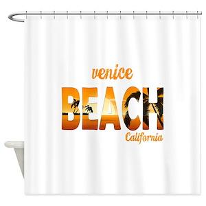 Venice Beach Shower Curtains