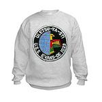 USS EVANS Kids Sweatshirt
