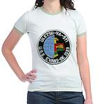 USS EVANS Jr. Ringer T-Shirt