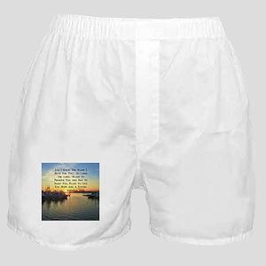 JEREMIAH 29:11 Boxer Shorts