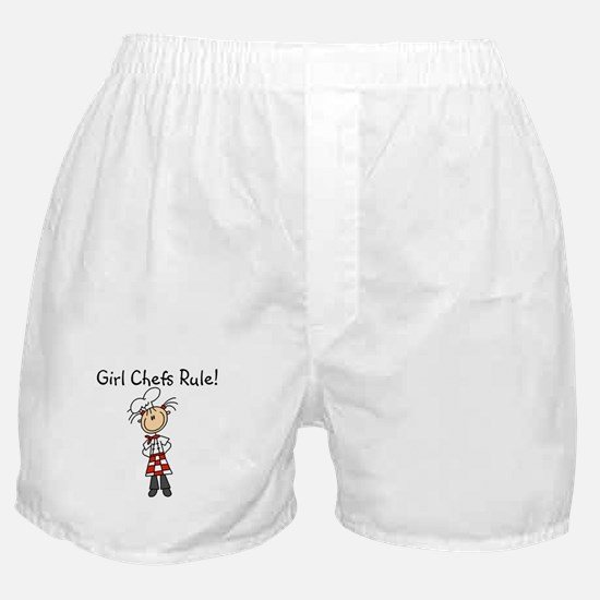 Girl Chefs Rule Boxer Shorts