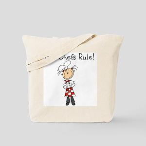 Girl Chefs Rule Tote Bag
