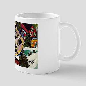 NUN CAPADES FOLK ART Mug