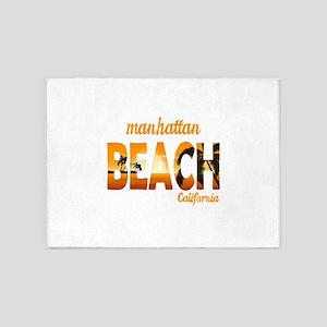 California - Manhattan Beach 5'x7'Area Rug