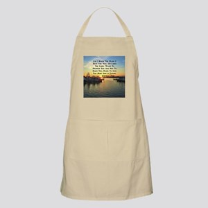 JEREMIAH 29:11 Light Apron