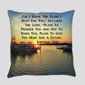 JEREMIAH 29:11 Everyday Pillow