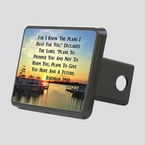 JEREMIAH 29:11 Rectangular Hitch Cover