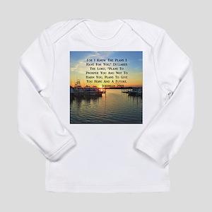 JEREMIAH 29:11 Long Sleeve Infant T-Shirt