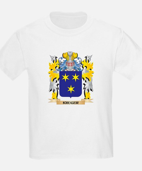 Kruger Coat of Arms - Family Crest T-Shirt
