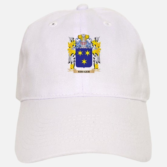 Kruger Coat of Arms - Family Crest Baseball Baseball Cap