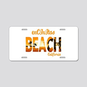 California - Encinitas Aluminum License Plate