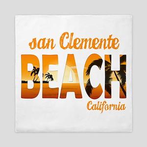 California - San Clemente Queen Duvet