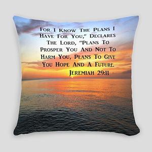 JEREMIAH 29:11 Everyday Pillow
