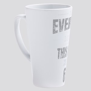 65th Birthday Gift Retro Sixty Fiv 17 oz Latte Mug