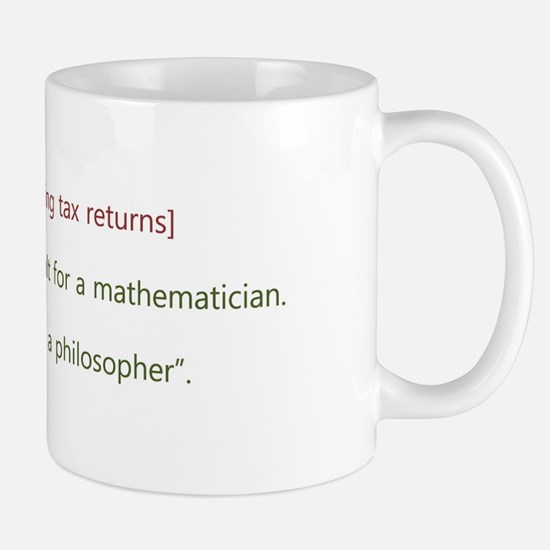 Unique Tax phrases Mug