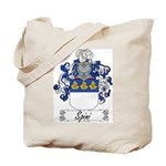 Spini Family Crest Tote Bag